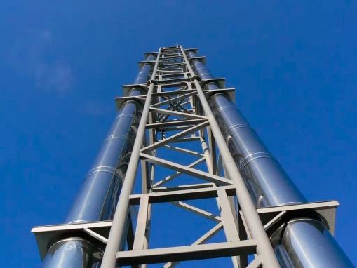 Модульные дымоходы из нержавеющей стали
