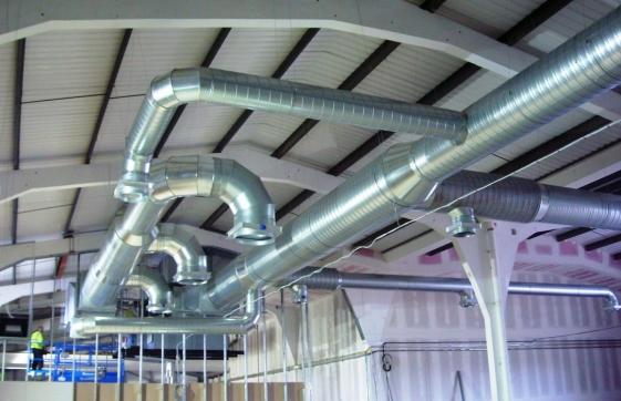 Особенности современного монтажа систем вентиляции